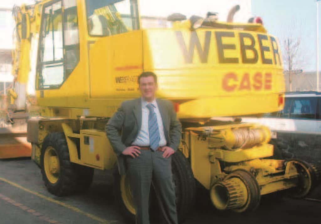 WEBER AG Aktuell: Ausgabe 1 – Auf neuen Gleisen der Zukunft entgegen