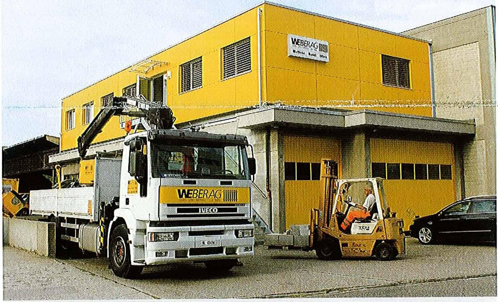 WEBER AG Aktuell: Ausgabe 10 – Ideale Lage auf dem Werkhof