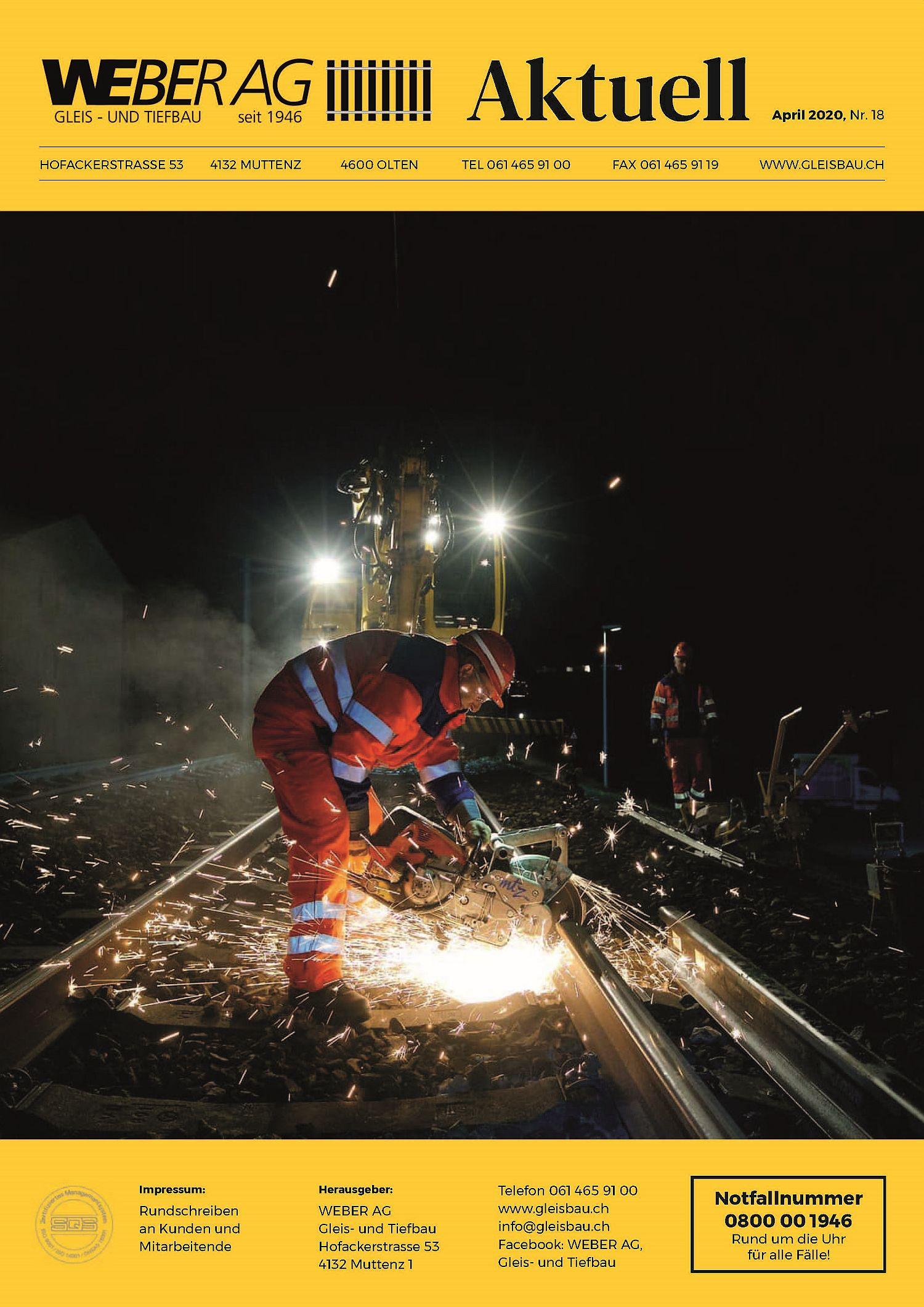 WEBER AG Aktuell: Ausgabe 18 – WEBER AG mit neuer Unternehmensleitung