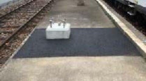 Tiefbauarbeiten Fahrleitungsersatz Bahnhof Balsthal OeBB